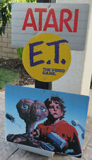 Atari E.T. Store Promotional Advertisement Sign 80's mobile Complete