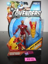 NEW! MARVEL AVENGERS SHATTERBLASTER IRON MAN ACTION FIGURE #18 2012 NIP!! A8-28