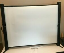 """Epson ES1000 Ultraportable Tabletop Projection Screen 50"""" Soft Carry Case Guide"""