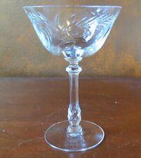 Tiffin Franciscan Cynthia #17441 Stem Crystal Champagne Sherbet(s)