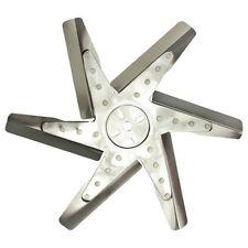 """Derale 17920 Reverse Rotation 20/"""" Black Steel Clutch Fan"""
