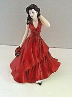 Royal Doulton HN5508 August Poppy Sincerity Flower of Month  Pretty Ladies NoBox