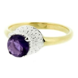 Vintage Scottish Thistle 24ct Gold Plated Ring