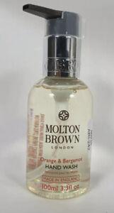 Molton Brown Orange & Bergamot Hand Wash With Pump 2x 100ml
