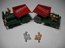 Vintage Matchbox No.2A MUIR HILL DUMPER . DIECAST PAINTED DRIVER ONLY.