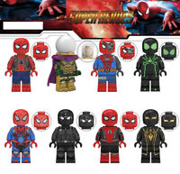Spider-Man: Far From Home New 2019 Film Marvel Building Blocks Toys Peter Parker