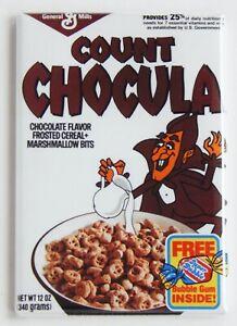 Count Chocula Cereal Box FRIDGE MAGNET