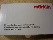 Märklin Z 80126 Messewagen Nürnberg 2016 Weihenstephan Neu OVP