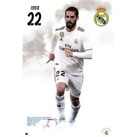 """ISCO REAL MADRID PLAYER WALL POSTER 24'X36"""" OFFICIALLY LICENSED"""