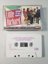 Shake It All About by Little Richard (Cassette, 1992, Disney 60849-0)