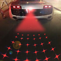 Car Anti-Collision Rear end Laser Tail Fog Light Auto Brake Parking Warning Bulb
