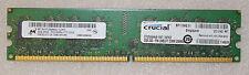 2 GB 1x2GB MICRON DDR2 PC2-8500 DDR2-1066 MHz módulo de memoria DIMM PC de escritorio RAM 240 Pin