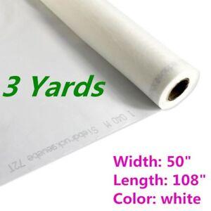 "3 Yards - Silk Screen Printing Mesh Fabric 110 43T / 110 - 108"" L"