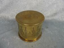 WW1 Egyptian Trench Art Tobacco Jar Shell Case