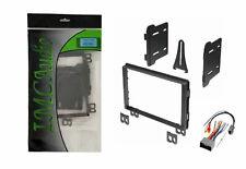 Double DIN Radio Stereo Dash Kit Wire Harness Premium Sound