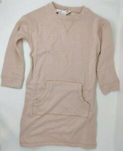 NEXT Outlet - Pink Long Sweatshirt Jumper Dress - 4-5 Years