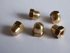 2BA Brass Dome Nut - Acorn Nut -  Brand New Stock Quantity 10
