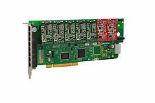 OpenVox A800P52 8 Port Analog PCI Base Card + 5 FXS + 2 FXO, Ethernet (RJ45)