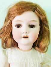 """ANTIQUE LARGE 26"""" GERMAN BISQUE DOLL Special 65 by KLEY & HAHN 1895 A BEAUTY!!"""