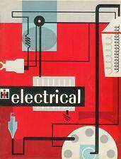 IH  FARMALL/CUB Electrical Service Shop Manual GSS-1310 coil binding
