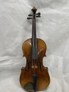 """Vintage Violin For Restoration. 14.25"""" Back"""