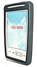 Silikon TPU Handy Cover Case Hülle KSchutzhülle in Schwarz für HTC HD Mini