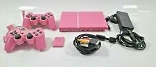 Sony Playstation 2 slim PINK inkl. 2 Kontroller PINK + 1 Memory Card Pink tested