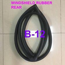 FOR 87-90 Nissan Sentra B12 Weatherstrip Windshield Back Window Rubber Rear Seal