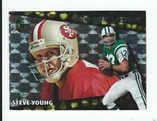 1996 Topps Broadway's Reviews #BR7 Steve Young 49ers