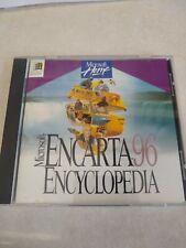 Microsoft Home Encarta 96 Encyclopedia Cd-Rom for Microsoft Windows 95