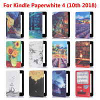 Smart Case e-Reader Shell Cover For Amazon Kindle Paperwhite 4 10th Gen 2018