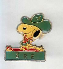 RARE PINS PIN'S .. BD COMICS SNOOPY PEANUTS SKI SKIING ARE  ~AM