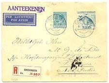 NED INDIE DUTCH INDIES 1929-9-10  REG. CV # LP 8   ALMOST  VF