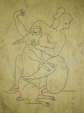 FRANCISCO TOLEDO INK ON PAPER UNSIGNED INK ON PAPER DRAWING