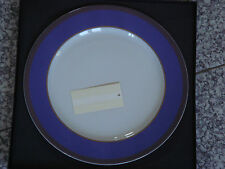 Grande assiette présentation 31cm Rosenthal VERSACE Méandre mauve NEUVE 179€