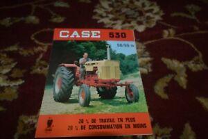 Case 530 Tractor Brochure FCCA