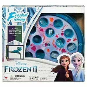 Disney Frozen 2 Frosted Fishing Game Elsa Princess Anna Olaf Snowman Sven