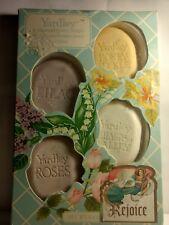Vintage 4 Yardley Assorted Perfumed Guest Soaps 1oz each FREESH*P