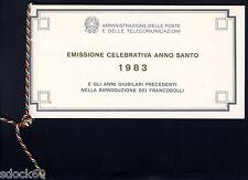 ITALIA 1983 - LIBRETTO - ANNO SANTO - CON CORDONCINO  raro - scarce