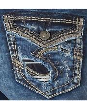 Nova Blusa Feminina Plus Size Silvers Elyse Driggs Denim Jeans 18x33 20x33 22x33 24x33
