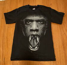 Watch the Throne Jay Z Kanye United States Tour Shirt  Adult Small Black Rare