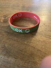 Reversible Mood Rubber Wrist Band