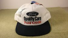 Autographed New Vintage DALE JARRETT #88 Ford Quality Care Baseball Cap/Hat
