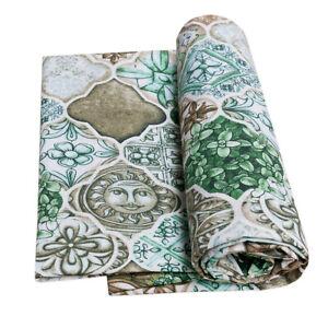 Telo arredo copri tutto piastrelle maioliche copridivano cotone granfoulard casa