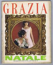 Grazia N. 1244, 1964 – Sean Connery, M. Vitti,V. Gassman, Sandra Pioda, MODA