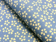 Japanese Fabric_Cotton_Saxe blue,Sakura_Half Yard,#m008