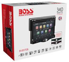 Boss Audio Systems BV8970B In-Dash DVD Player MP3 Bluetooth USB BRAND NEW