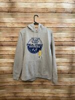 Realtree Mens Gray Logo Pullover Hoodie Sweatshirt Large New NWT Outdoor Casual