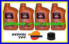 Kit Tagliando YAMAHA FAZER 1000 04>05 + Filtro Olio REPSOL 10W/40 FZS 2004 2005