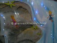 Sternenhimmel mit LED-Technik 160 Lichtfaser in Glasfaser Optic Fernbedienung